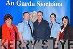 CONCERT: Enjoying the Annual Garda Band Concert, in aid of the Samaritans, at The Brandon Hotel, Tralee, on Friday evening were, l-r: Breda Cronin, Ballyrickard, Garda Pat Quinlisk, Lee Drive, Garda John Clohessy, Caherslee, Garda Trish Fitzpatrick, Lee Drive, and Gretta ORourke, Ballyrickard..