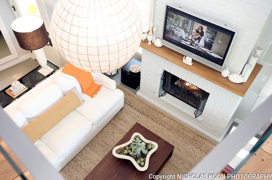 Laguna Beach Cottage living room.