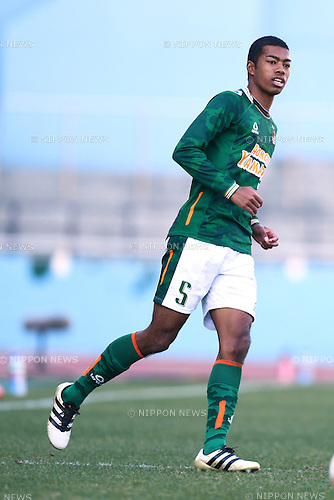 Mikuni (), <br /> JANUARY 5, 2017 - Football / Soccer : <br /> 95th All Japan High School Soccer Tournament Quater Final between Shochi Fukaya 1-3 Aomori Yamada<br /> at Kawasaki Todoroki Stadium, Kanagawa, Japan.<br /> (Photo by AFLO SPORT)