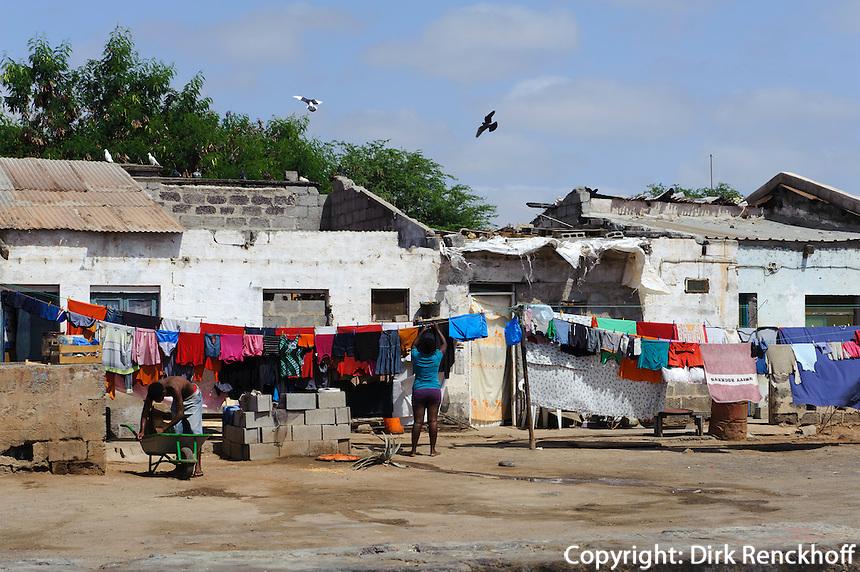 Hütten in Palmeira, Sal, Kapverden, Afrika
