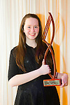 Muireann Ní Mhathúna, Lixnaw, vocalist and Flute winner of the Kerry School of Music Young Musician of the Year competition at Ballyroe Heights Hotel On Sunday