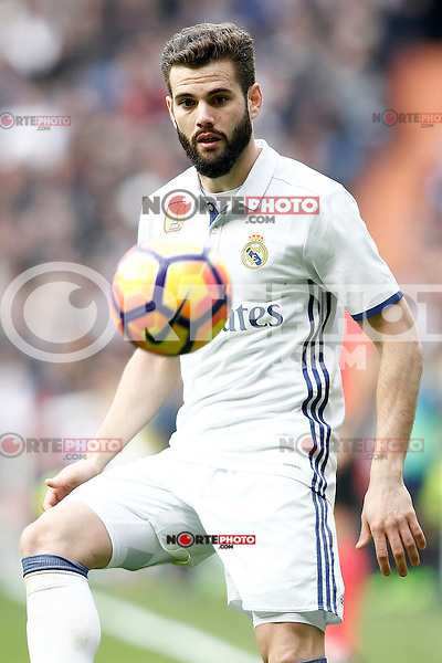 Real Madrid's Nacho Fernandez during La Liga match. February 18,2017. (ALTERPHOTOS/Acero) /Nortephoto.com