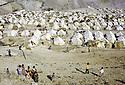 Iran 1974.Camp de réfugiés kurdes à Nelliwan.Iran 1974.Kurdish refugees' camp
