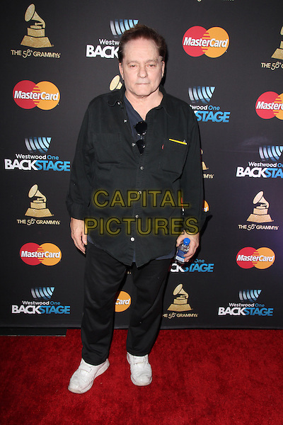 LOS ANGELES, CA - FEBRUARY 12: Marty Balin at the 2016 Grammys Radio Row Day 1 presented by Westwood One, Staples Center, Los Angeles, California on February 12, 2016.   <br /> CAP/MPI/DE<br /> &copy;DE//MPI/Capital Pictures