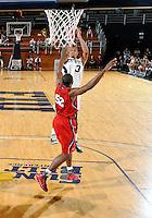 Florida International University guard-forward Dominique Ferguson (3) plays against Florida Atlantic University, which won the game 66-64 on January 21, 2012 at Miami, Florida. .