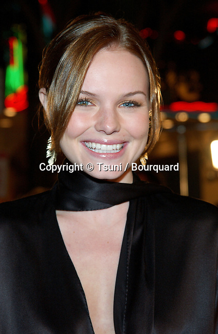 Kate Bosworth arriving at the 8 Mile Premiere at the Westwood Village Theatre in Los Angeles. November 6, 2002.