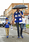 Leicester city fans walking to The King Power Stadium, Leicester. Photo credit should read: Nathan Stirk/Sportimage<br /> <br /> <br /> <br /> <br /> <br /> <br /> <br /> <br /> <br /> <br /> <br /> <br /> <br /> <br /> <br /> <br /> <br /> <br /> <br /> <br /> <br /> <br /> <br /> <br /> <br /> <br /> <br /> <br /> <br /> <br /> <br /> - Newcastle Utd vs Tottenham - St James' Park Stadium - Newcastle Upon Tyne - England - 19th April 2015 - Picture Phil Oldham/Sportimage