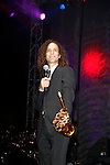October 1, 2010: Legendary musician Kenny G performs live at the 'Rhythm on the Vine' charity event to benefit Shriners Children Hospital held at  the South Coast Winery Resort & Spa in Temecula, California. Photo by Nina Prommer/Milestone Photo.