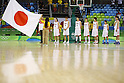 Japan Women's team group (JPN),  AUGUST 13, 2016 - Basketball : <br /> Women's Preliminary Round <br /> between Japan 79-71 France <br /> at Youth Arena <br /> during the Rio 2016 Olympic Games in Rio de Janeiro, Brazil. <br /> (Photo by Yusuke Nakanishi/AFLO SPORT)