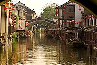 Along a canal near Tiger Hill, Suzhou, China