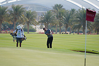 Thomas Pieters (BEL) on the 3rd during the Pro-Am of the Commercial Bank Qatar Masters 2020 at the Education City Golf Club, Doha, Qatar . 04/03/2020<br /> Picture: Golffile   Thos Caffrey<br /> <br /> <br /> All photo usage must carry mandatory copyright credit (© Golffile   Thos Caffrey)