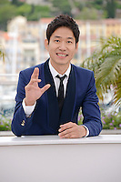 "Yu Junsang attending the ""Da-reun Na-ra-e-suh (In Another Country)"" Photocall during the 65th annual International Cannes Film Festival in Cannes, France, 21th May 2012...Credit: Timm/face to face / Mediapunchinc"