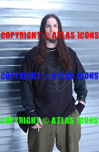 DOWN; Studio Portrait Session at Lightning Studios, In New York City, 2003.Photo Credit: Eddie Malluk/Atlas Icons.com