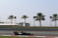3rd December 2019; Yas Marina Circuit, Abu Dhabi, United Arab Emirates; Pirelli Formula 1 tyre testing sessions; Haas F1 Team, Romain Grosjean