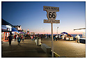 Californie-Route 66<br /> Los Angeles<br /> Santa Monica