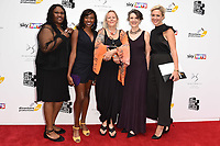 Jennifer Joseph, Jade Anouka, Phyllida Lloyd, Harriet Walters and Kate Pakenham<br /> at the South Bank Sky Arts Awards 2017, Savoy Hotel, London. <br /> <br /> <br /> ©Ash Knotek  D3288  09/07/2017