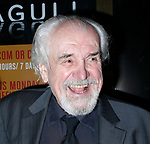 Louis Zorich arriving for the Opening Night Performance for THE SEAGULL at the Walter Kerr Theatre in New York City.<br />