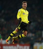 Fussball Bundesliga 2012/13: Bremen - Dortmund