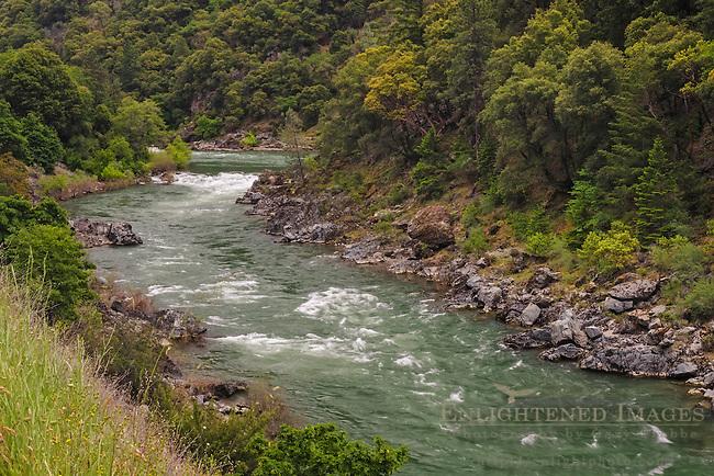The Trinity River, Trinity County, California