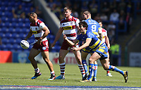 Warrington Wolves' Stefan Ratchford <br /> <br /> Photographer Stephen White/CameraSport<br /> <br /> Rugby League - Coral Challenge Cup Sixth Round - Warrington Wolves v Wigan Warriors - Sunday 12th May 2019 - Halliwell Jones Stadium - Warrington<br /> <br /> World Copyright © 2019 CameraSport. All rights reserved. 43 Linden Ave. Countesthorpe. Leicester. England. LE8 5PG - Tel: +44 (0) 116 277 4147 - admin@camerasport.com - www.camerasport.com