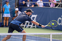 Washington, DC - August 3, 2019:  Raven Klaasen (RSA) gets to the ball during the  Men Doubles semi finals at William H.G. FitzGerald Tennis Center in Washington, DC  August 3, 2019.  (Photo by Elliott Brown/Media Images International)
