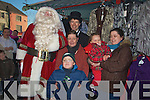 COLD; On a cold Satuirday in the Square Tralee were, the O'Shea and MCCarthy  family who met up with Santa they were, Sharon O'Shea, Martha McCarthy, Gary O'Shea,Lala McCarthy, Peter Harty and Santa............................ ..........