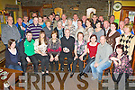 Bernie O'Brien, Headford, Killarney seated centre was completely surprised when he arrived in Linehan's bar, Killarney, where he works, last Wednesday night, all the locals and his family had gathered to surprise him to celebrate his 20th anniversary of working in the bar....