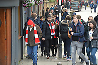 Arsenal Fans arrive during Arsenal vs West Ham United, Premier League Football at the Emirates Stadium on 7th March 2020