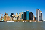 New York City, New York: Skyline of New York lower manhattan post 9-11.  .Photo #: ny222-14667  .Photo copyright Lee Foster, www.fostertravel.com, lee@fostertravel.com, 510-549-2202.