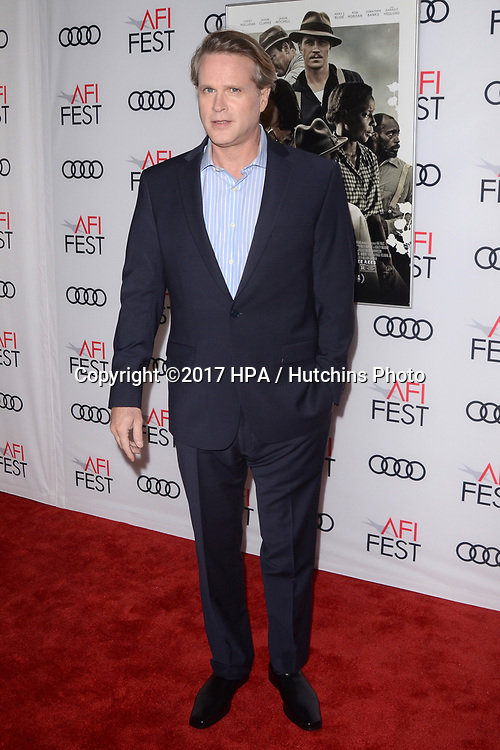 "LOS ANGELES - NOV 9:  Cary Elwes at the ""Mudbound"" Opening Gala of AFI Fest 2017 at the TCL Chinese Theater IMAX on November 9, 2017 in Los Angeles, CA"