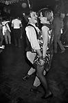 New Romantics at the Heaven nightclub Villiers Street, Charing Cross, London, 1980.