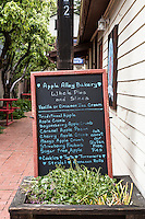 Apple Alley Bakery, Julian, California.