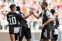 Paulo Dybala of Juventus , Blaise Matuidi of Juventus , Leonardo Bonucci of Juventus <br /> Torino 28/09/2019 Allianz Stadium <br /> Football Serie A 2019/2020 <br /> Juventus FC - SPAL <br /> Photo OnePlusNine / Insidefoto