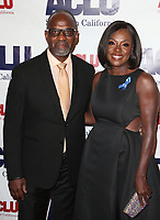 BEVERLY HILLS, CA - DECEMBER 3: Julius Tennon, Viola Davis, at ACLU SoCal's Annual Bill Of Rights Dinner at the Beverly Wilshire Four Seasons Hotel in Beverly Hills, California on December 3, 2017. Credit: Faye Sadou/MediaPunch /NortePhoto.com NORTEPHOTOMEXICO