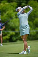 Lydia Ko (NZL) watches her tee shot on 11 during round 1 of the 2018 KPMG Women's PGA Championship, Kemper Lakes Golf Club, at Kildeer, Illinois, USA. 6/28/2018.<br /> Picture: Golffile | Ken Murray<br /> <br /> All photo usage must carry mandatory copyright credit (&copy; Golffile | Ken Murray)