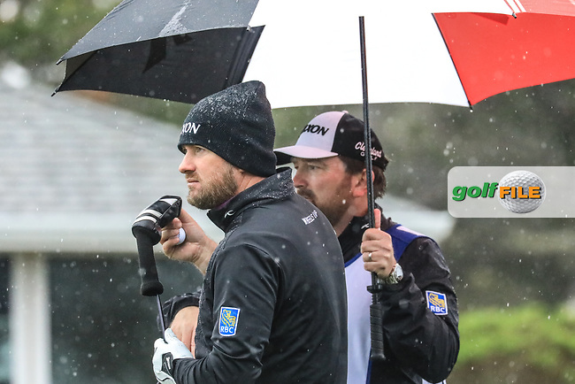 Graeme McDowell (NIR) in action at Monterey Peninsula Country Club during the second round of the AT&T Pro-Am, Pebble Beach Golf Links, Monterey, USA. 08/02/2019<br /> Picture: Golffile | Phil Inglis<br /> <br /> <br /> All photo usage must carry mandatory copyright credit (© Golffile | Phil Inglis)