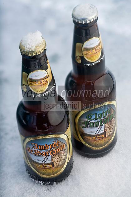 """Amérique/Amérique du Nord/Canada/Québec/Mauricie/Saint-Alexis-des-Monts:""""Les  Bières de la Nouvelle France"""""""
