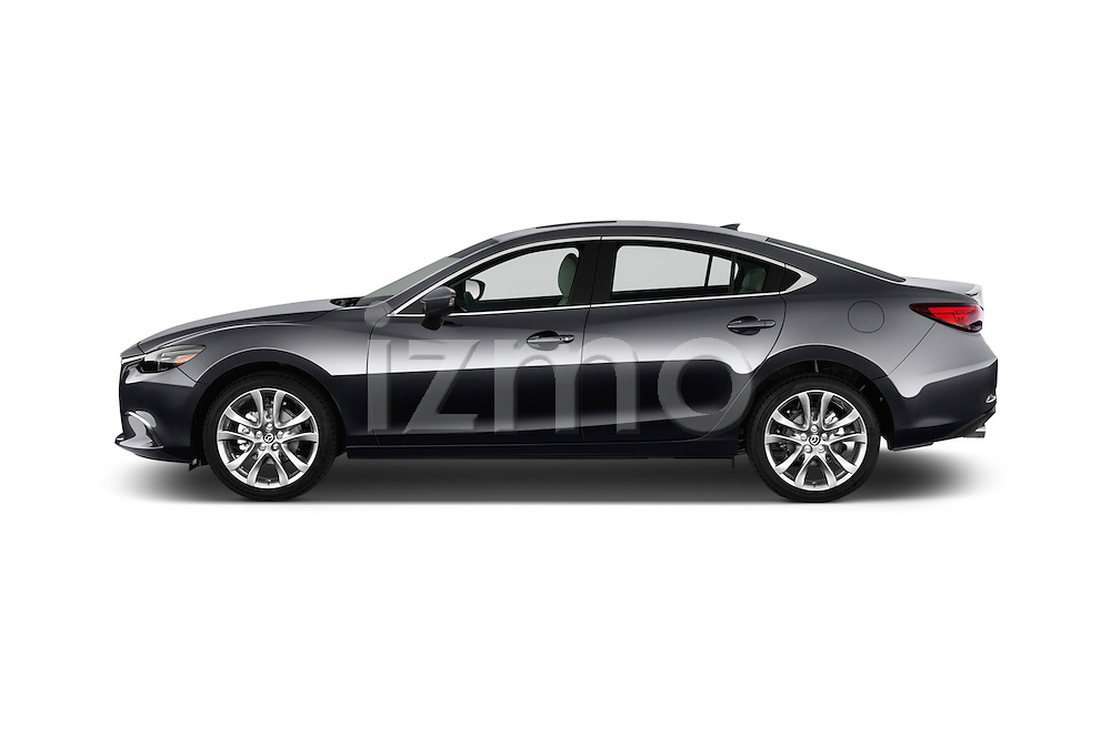 Car driver side profile view of a 2016 Mazda 6 i Grand Touring Auto 4 Door Sedan