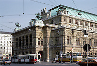 Vienna: The Ringstrasse--State Opera House, 1861-1869; 1945-1955. Augost Von Siccardsburg and Eduard Van Der Null. Photo '87.