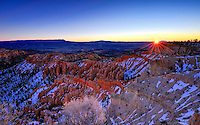 "Sunrise from ""Bryce Point"" Utah's Bryce Canyon National Park"