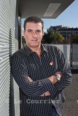 Genève, le 13.10.2009.Eric Stauffer, président du Mouvement Citoyen Genevois, MCG..© Le Courrier / J.-P. Di Silvestro