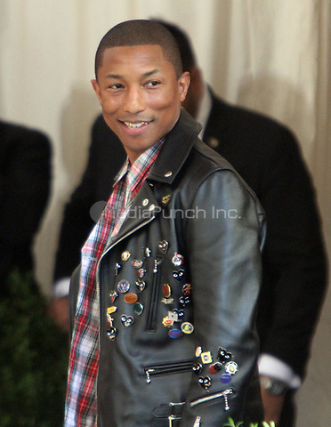 NEW YORK, NY May 01, 2017 Pharrell Williams  attend  The Metropolitan Museum of Art Costume Institute Benefit Gala for Rei Kawakubo Comme des Garcons at  Metropolitan Museum of Art  in New York May 01,  2017. Credit:RW/MediaPunch