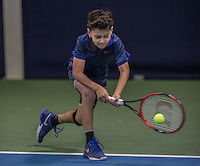 Hilversum, Netherlands, December 4, 2016, Winter Youth Circuit Masters, Manvydas Baldunas (NED)<br /> Photo: Tennisimages/Henk Koster