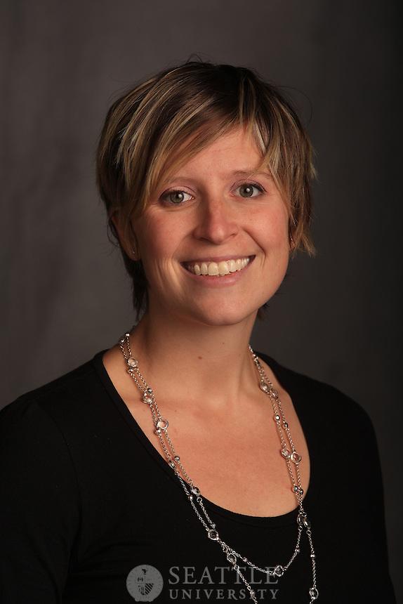 10242012- portrait/head shot day #2..Lindsay Leeder.Nursing Faculty and Advisor to the Sullivan Leadership Program.College of Nursing.