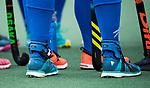 UTRECHT - EXO-L enkelbace   tijdens de hockey hoofdklasse competitiewedstrijd dames:  Kampong-Laren . COPYRIGHT KOEN SUYK