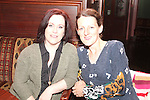 Alice Duff and Rosie Condra at the Quiz in Foleys in aid of The Cancer Society and Crumlins Children Hospital...Picture Jenny Matthews/Newsfile.ie