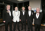 21/2/2015.   Attending the Lions Club 50th Anniversary Ball in the Strand Hotel were  Terece Mangan, Passed District Governor(PDG), Ennis,  Pat O'Brien, District Governor, Cork Noel Sexton, Caherdavin, President Limerick Lions, Bill Moloney, Caherdavin(PDG) and Joe Smith, Howth/Sutton (PDG).<br /> Photograph Liam Burke/Press 22
