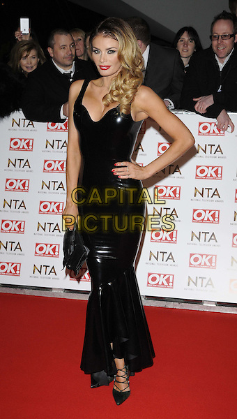 LONDON, ENGLAND - JANUARY 21: Chloe Sims attends the National TV Awards 2015, The O2 Arena, Millennium Way, Peninsula Square, Greenwich, on Wednesday January 21, 2015 in London, England, UK. <br /> CAP/CAN<br /> &copy;Can Nguyen/Capital Pictures