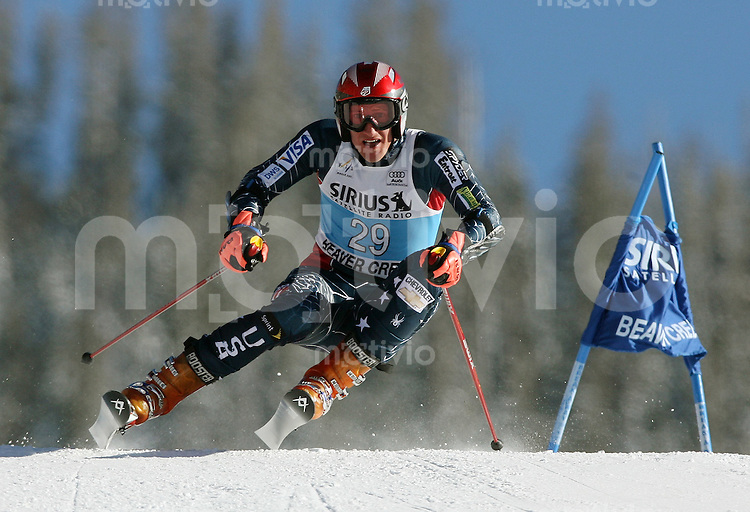 Ski Alpin; Saison 2006/2007  Riesenslalom Herren Jimmy Cochran (USA)