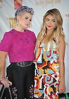 Kelly Osbourne &amp; Sarah Hyland at the 2014 TrevorLIVE Los Angeles Gala at the Hollywood Palladium.<br /> December 7, 2014  Los Angeles, CA<br /> Picture: Paul Smith / Featureflash